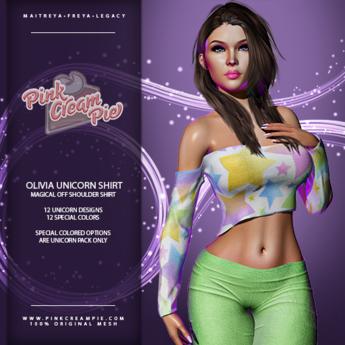 !PCP :: Olivia Shirt [Unicorn Pack]