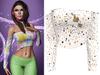 !PCP :: Olivia Shirt [Unicorn Gold]