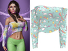 !PCP :: Olivia Shirt [Unicorn Dream]