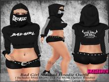 Tastic-Bad Girl Masked Hoodie Outfit