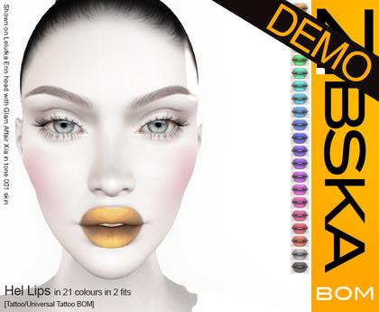 Zibska BOM Pack ~ Hel Lips Demo [tattoo/universal tattoo BOM]