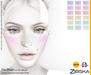 Zibska ~ Piri Blush in 18 colors with omega applier, tattoo and universal tattoo BOM layers