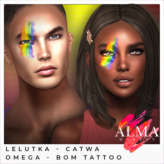 ALMA Makeup - Pride Tattoo - FATPACK (add me)