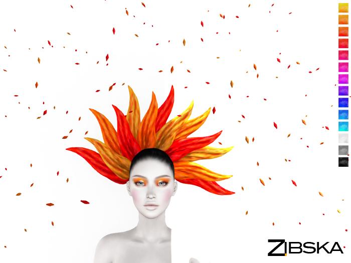 Zibska ~ Pollux Color Change Headpiece and Orbits