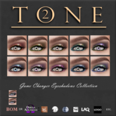 TONE 2 - Game Changer Eye Shadow Collection (wear)