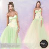 .:FlowerDreams:.Amanda - spring green applier gown