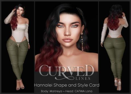 .: CL :. Hannalei Shape & Style Card
