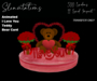 Slinvitations Animated Red I love You Bear Card