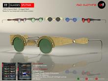 A&D Clothing - Glasses -Sputnik-  Deluxe