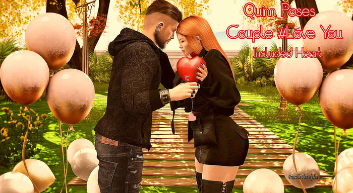Quinn Poses Couple #Love You