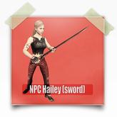 NPC Hailey (sword)