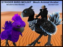 [BC] Strider Bird Mount - Cardinal