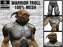 COMPLETE Warrior Troll [REAL]