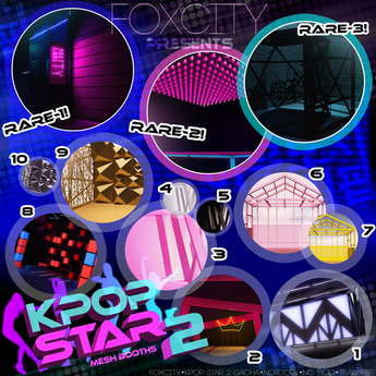 FOXCITY. K-POP Star 2. (7) DNA - Yellow (Common)