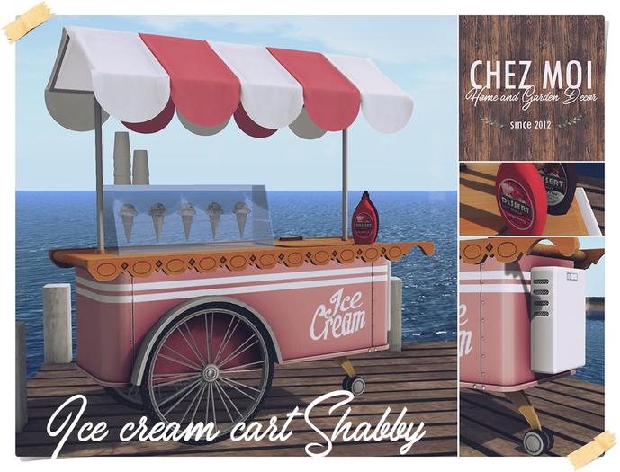 Ice Cream Cart Shabby ♥ CHEZ MOI