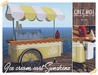 Ice Cream Cart Sunrise ♥ CHEZ MOI