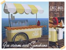 Ice Cream Cart Sunrise ♥ CHEZ MOI