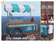 Ice Cream Cart Blu ♥ CHEZ MOI