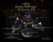 wear/andika[spooky Halloween Dispenser Set]