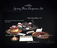 up date/andika[Spring Flan Dispenser Set]