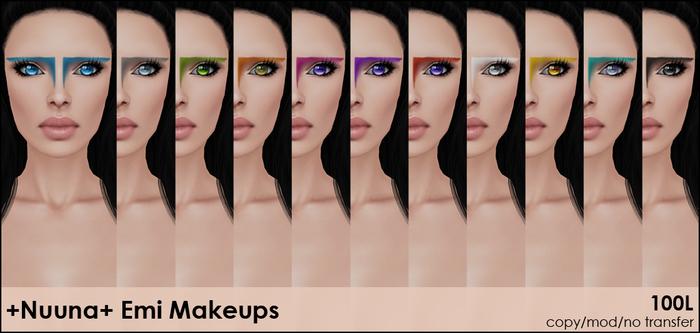 +Nuuna+ Emi makeups