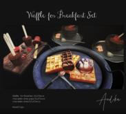 wear//andika[Waffle  for Breakfast ]Set