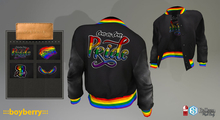 boyberry Letterman Jacket Pride Edition