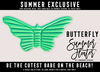 [Cinnamon Cocaine] Butterfly Float - Mint