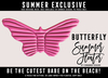 [Cinnamon Cocaine] Butterfly Float - Pink
