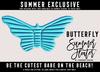 [Cinnamon Cocaine] Butterfly Float - Blue