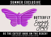 [Cinnamon Cocaine] Butterfly Float - Purple