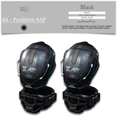 :::SOLE::: SA - Pauldron SAP (Black)