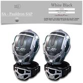 :::SOLE::: SA - Pauldron SAP (White Black)
