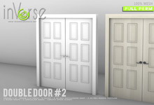 Double door with frame #2 MESH full permission