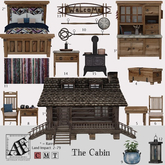 *AF* The Cabin 05 - Dining Table