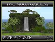 TMG - SLEEPY CREEK* Landscaped Waterfall