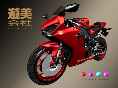 YumiCo Notahonda Motorcycle - Colors Pack
