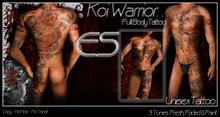 *ES* Koi Warrior - Tattoo Unisex