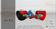 ..Pandora.. SemiOpen Boxing Helmet ver # 2