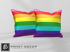 Fancy Decor: Pride Pillow