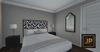 FD & COMMONER: SPERO BEDROOM SET W/RARE BED + EXTRAS