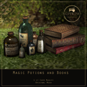 KOPFKINO - Magic Potions and Books