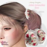 .:.H/D.:. mini scrunchie lace // white [20FAC5]