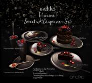 wear/andika[ kazuriSweets&Dispenser Set