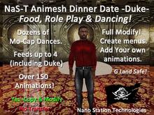 NaS-T Animesh Dinner Date Table  -Duke- M-1-G