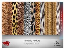 Fabric animal texture