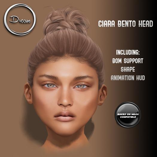 Dream | Ciara BENTO Mesh Head BOM