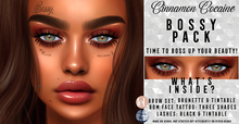 [Cinnamon Cocaine] Bossy Pack II Lashes / Brows/ Tat