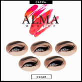 ALMA Makeup - All Blacks - Catwa