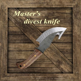 Master's divest knife [G&S]